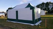 3m x 6m Industrial Pro 50+ Pop Up Gazebo (Inc Frame + Top + Side Walls)